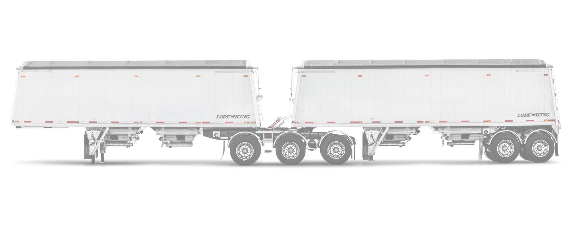Distinction Aluminum Hopper Trailers - Photos - Lode King